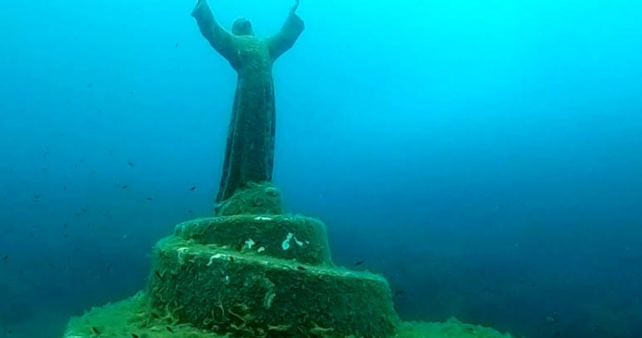 Christ of the Abyss in San Fruttuoso