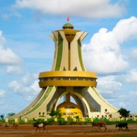 The Monument of National Heroes in Ouagadougou