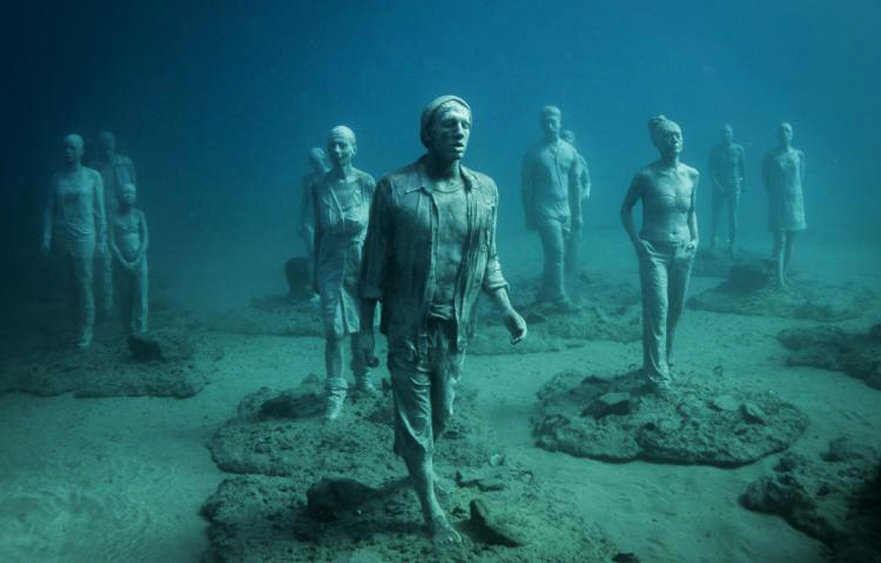 Museo Atlántico – The underwater museum in Playa Blanca