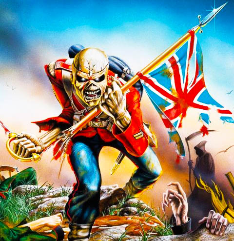 The birthplace of Iron Maiden in London