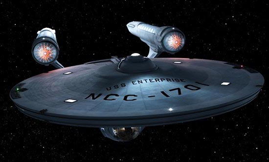 The first ship of Star Trek is being exhibited in Washington