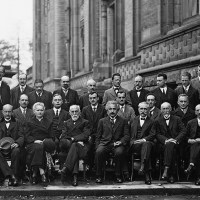 Solvay Conference - The famous fifth Solvay Conference takes place in Brussels