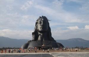Adiyogi Shiva statue – The form of the first yogi Lord Shiva in Coimbatore