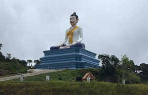 Lok Yeay Mao monument – The statue of the ancient mythical heroine in Kampot
