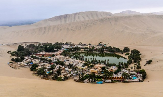 """Oasis of America""- The Peruvian Desert Oasis in Huacachina"