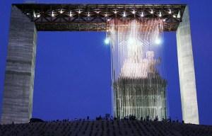 Manto de María Divina Pastora – The monumental structure of the Virgin Mary in Barquisimeto