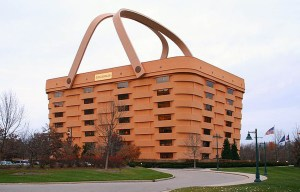 Longaberger – The Ohio's famous basket building in Newark