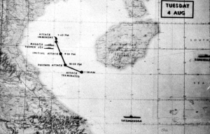 """Gulf of Tonkin incident – An """"occasion"""" for war takes place in the Gulf of Tonkin"""