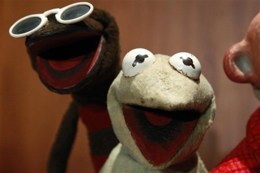 The Original Kermit Puppet is being exhibited in Washington