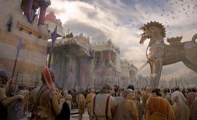 The Troy and the Trojan War in Tevfikiye