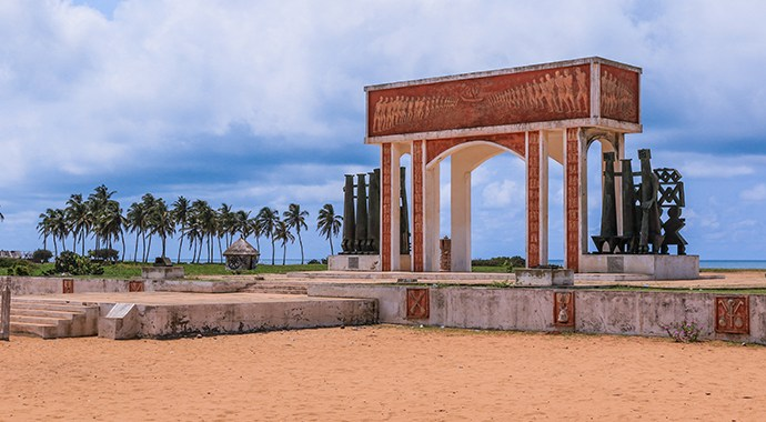 La Porte du Non Retour – The memorial arch in Ouidah