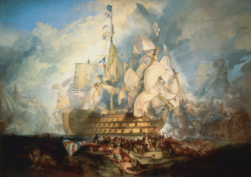 HMS Victory – The flagship of the Trafalgar Battle in Portsmouth