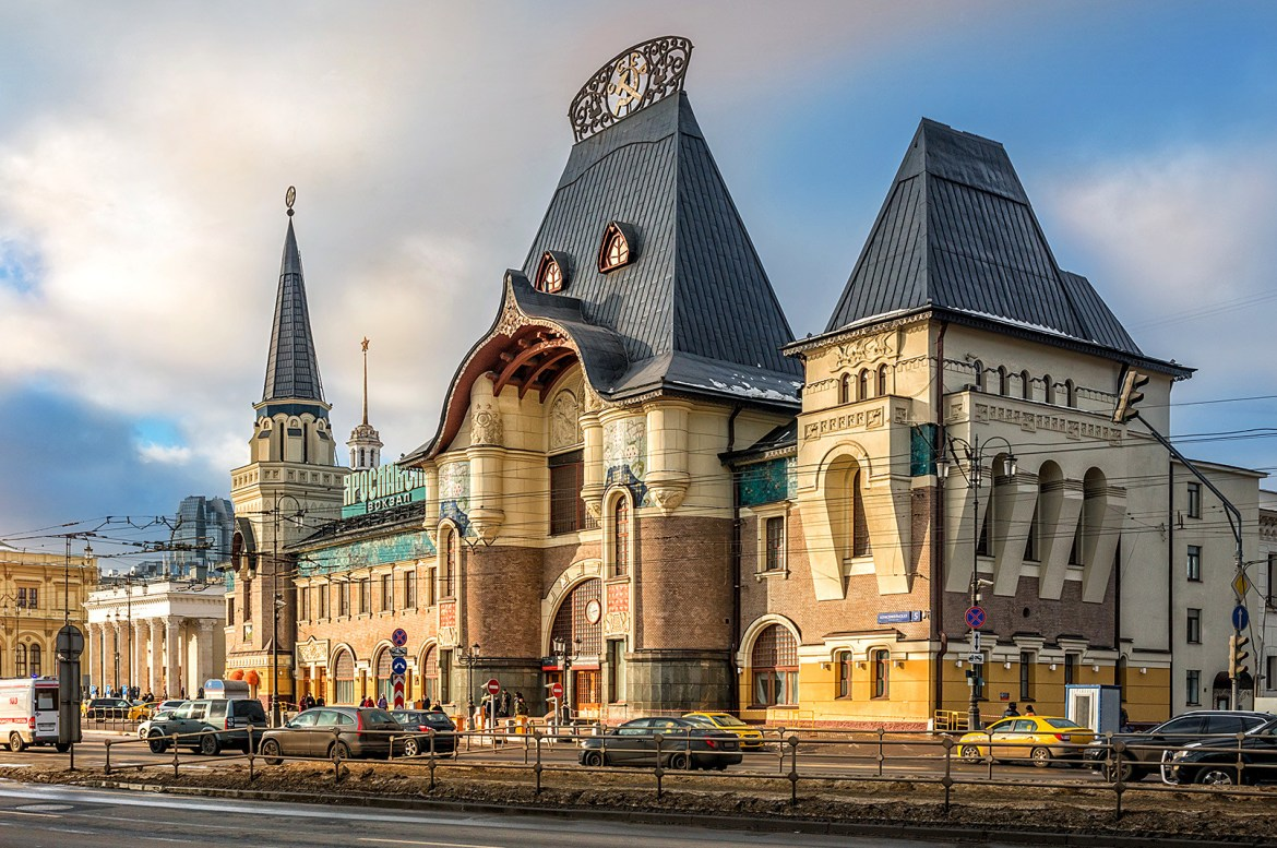 Yaroslavsky Station – The Trans-Siberian railway station in Moscow
