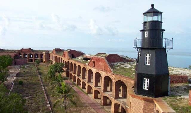 Fort Jefferson – The massive coastal fortress in Garden Key