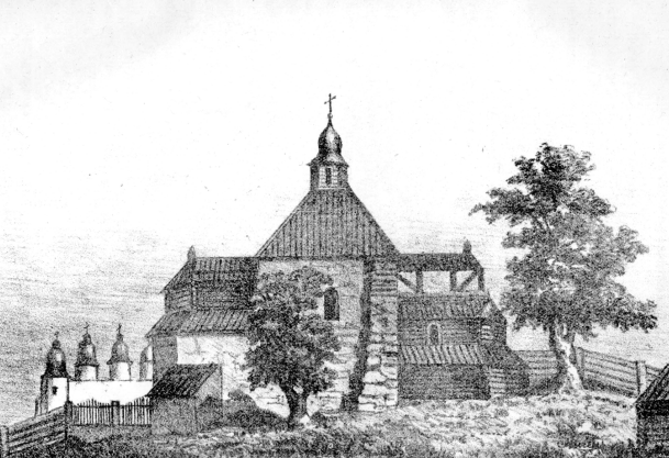 Church of the Tithes –  The first stone church in Kiev