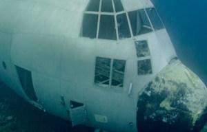 C-130 Hercules aircraft wreck – From sky to sea in Aqaba