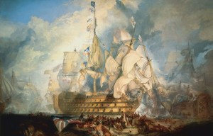 HMS Victory – The flagship of the Trafalgar Battle is being exhibited in Portsmouth