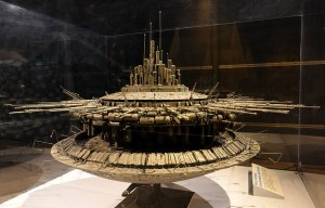 Close Encounters of the Third Kind – The alien Mother Ship is being exhibited in Chantilly