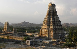 Virupaksha Temple – The part of the Group of Monuments at Hampi