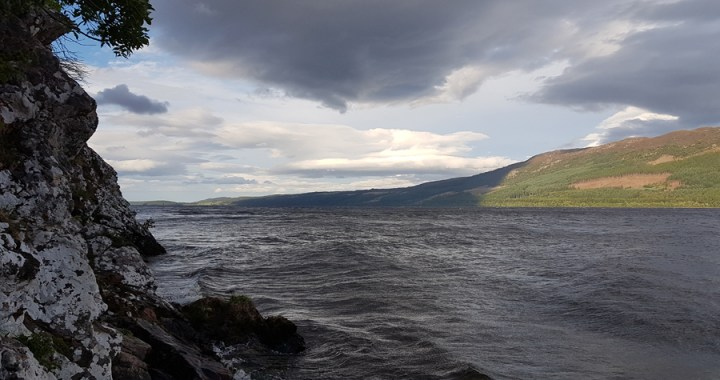 """Loch Nis – The lake and the Monster """"Nessie"""" in Loch Ness"""