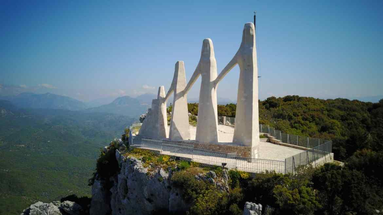 Monument of Zalongo – The memorial of the Sacrifice of Greek Women in Zalongo