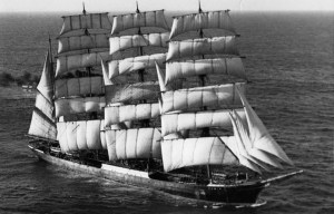 Pamir – The lifeboat of the famous sailing ship is being exhibited in Lübeck