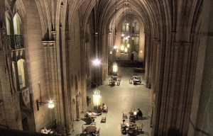 Cathedral of Learning –  The tallest educational building in the Western hemisphere in Pittsburgh