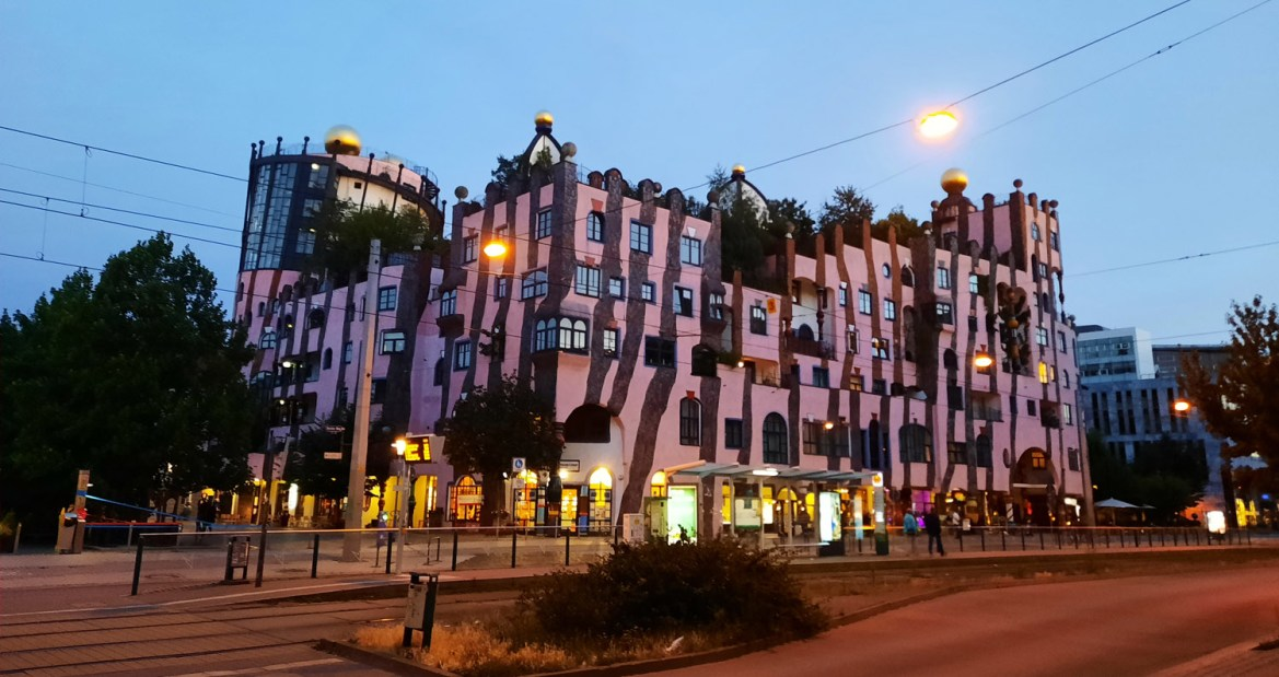 Grüne Zitadelle – The last project of Hundertwasser in Magdeburg