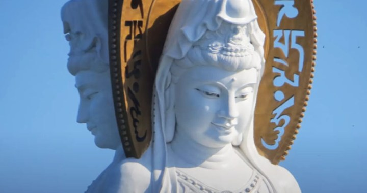 Guanyin of Nanshan – The three sided massive statue in Sanya