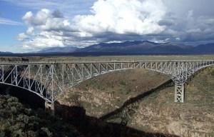 Rio Grande Gorge Bridge – The steel deck arch bridge in Taos