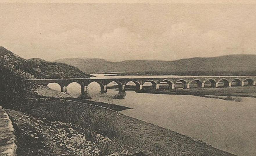 Carev Most – The Tsar's bridge in Nikšić