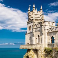 Swallow's Nest - Τhe castle on the cliff in Gaspra