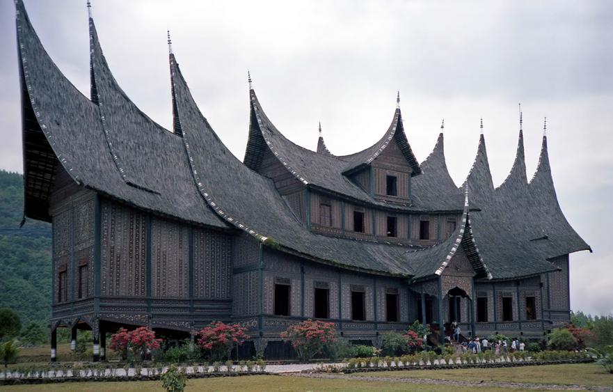 Istano Basa Pagaruyuang – The royal palace of the former Pagaruyung Kingdom in Batusangkar