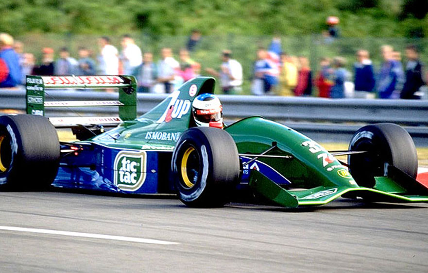 Michael Schumacher – The first F1 race in Stavelot
