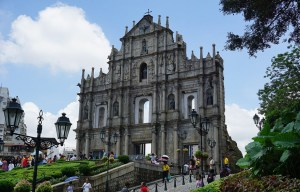 The Ruins of St. Paul's – The façade of the Church of Mater Dei in Macau