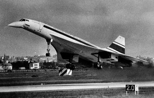 """Concorde 001 – The first prototype """"supersonic bird"""" is being exhibited in Le Bourget"""