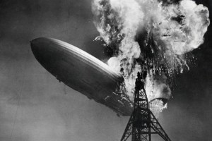 Hindenburg disaster – The end of the giant passenger airship in Lakehurst