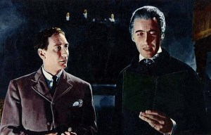 Horror of Dracula – The vampire bites in Water Oakley