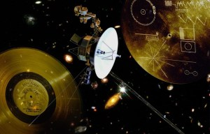 """Voyager 2 – The """"tireless"""" space probe travels in Outer space"""