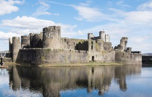 Caerphilly Castle – The great concentric castle of Wales in Caerphilly