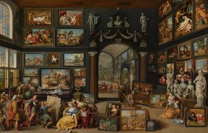 Apelles Painting Campaspe – The great art gallery painting is being exhibited in The Hague