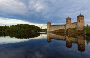 Olavinlinna Castle – The northernmost medieval stone fortress still standing in Savonlinna