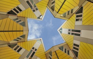 Cube houses – The set of innovative houses in Rotterdam