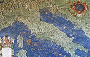 Vatican Gallery of Maps – The long gallery of map frescoes in the Vatican City