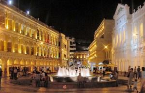 Senado Square – The Mediterranean urban center in Macau