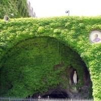 Vatican Grotta di Lourdes - The replica of the Grotto of Massabielle in the Vatican City