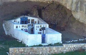 Panagia Kakaviotissa – The only roofless cave church in the world in Lemnos