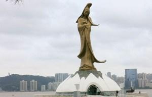 Kun Iam Ecumenical Centre – The statue of goddess of Mercy in Macau