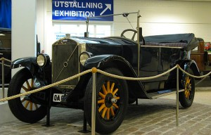 Volvo ÖV 4 – The first car by the famous Swedish automotive manufacturer is being exhibited in Gothenburg