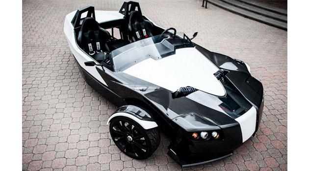 Torq Roadster, eléctrico y extraño